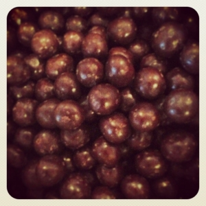 160g Dark chocolate Coated Hazelnuts